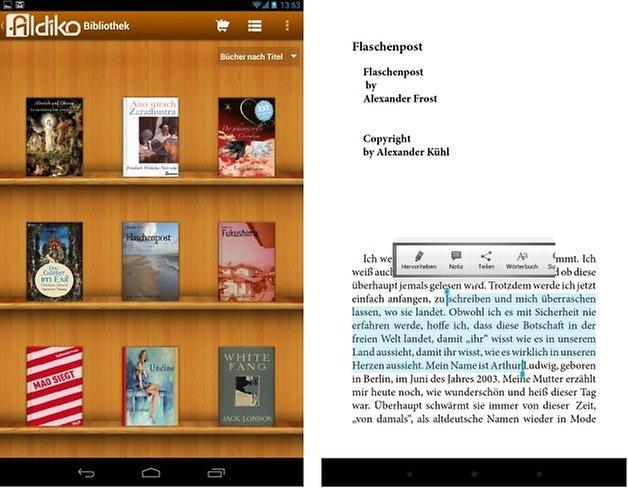 aldiko screenshot