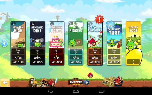 angry birds update kw38