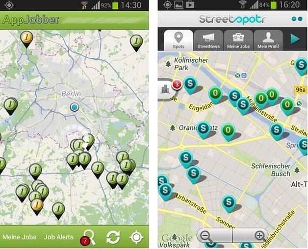 appjobber streetspotr karte