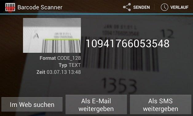 barcodescanner update