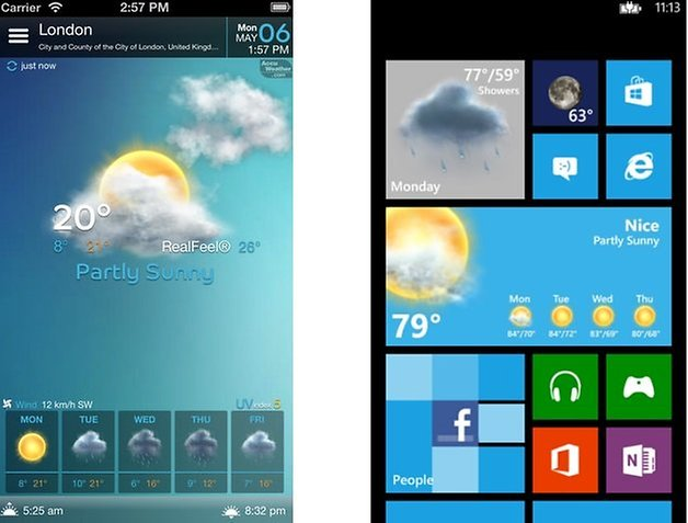 beautifulwidgets windows iphone