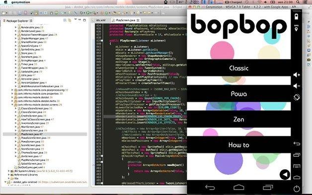 bopbop entwicklungsumgebung