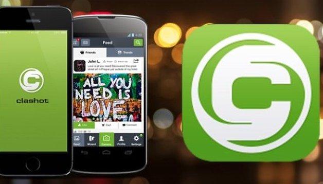 Clashot: Fotos machen und Geld verdienen