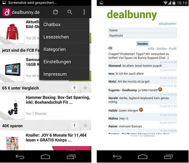 dealbunny screenshot3