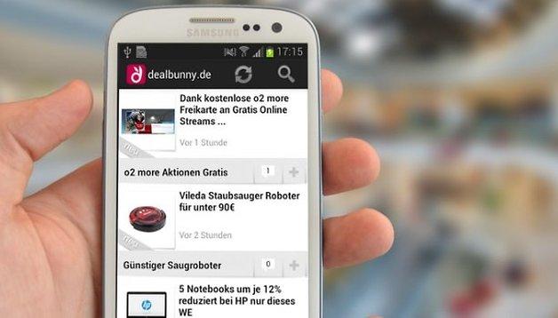 dealbunny.de findet alle Deals: Die besten Schnäppchen rund um die Uhr