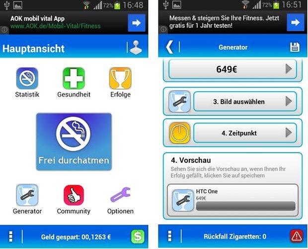 Raucher App