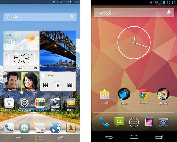 emotionui android homescreen