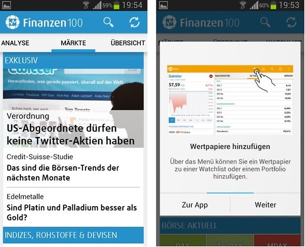 finanzen100 screenshot1