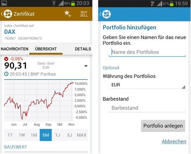finanzen100 screenshot2