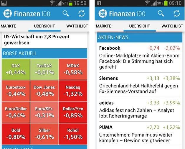 finanzen100 screenshot4