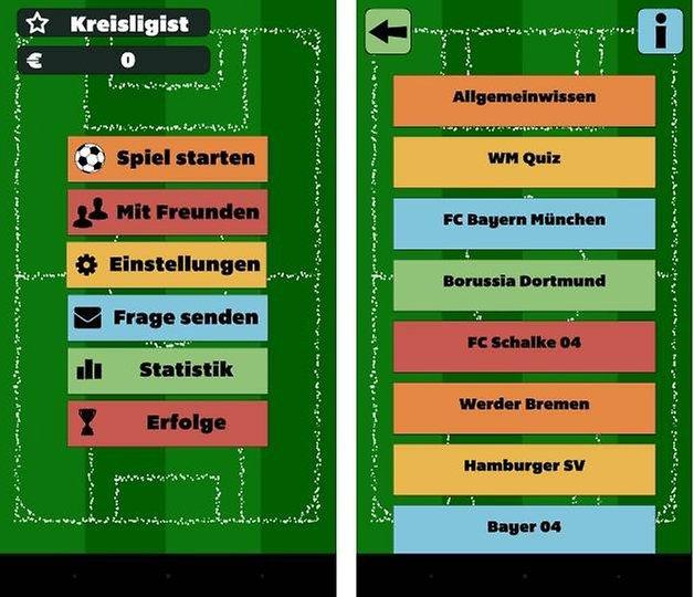 fussballquiz mit freunden screenshot 1