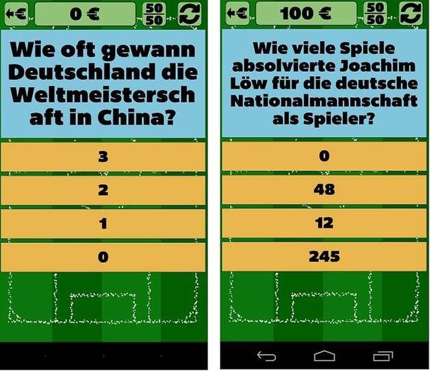 fussballquiz mit freunden screenshot 2