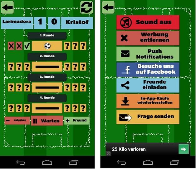 fussballquiz mit freunden screenshot 3