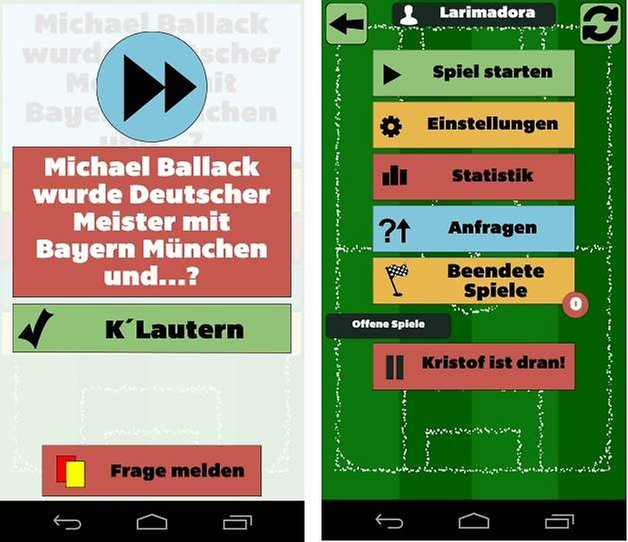fussballquiz mit freunden screenshot 5
