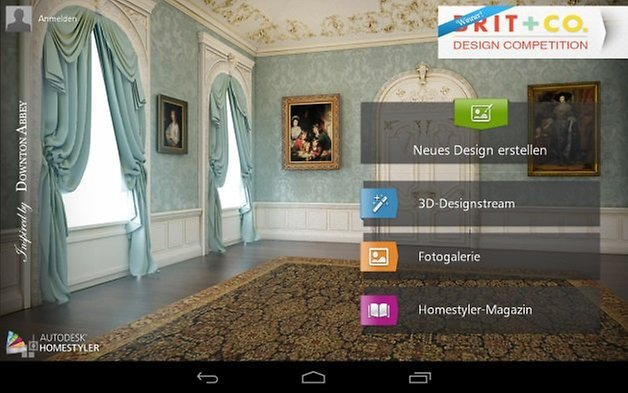 homestyler interior design applicazioni android in test androidpit. Black Bedroom Furniture Sets. Home Design Ideas