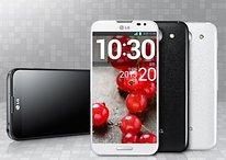 LG enthüllt Optimus G Pro mit gebogenem Glas