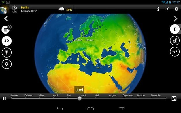meteoearth update
