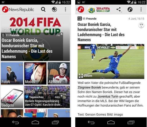 news republic update screenshot