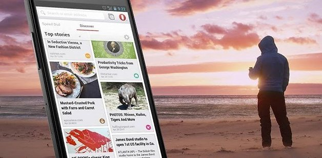 New features added to opera browser for android | AndroidPIT