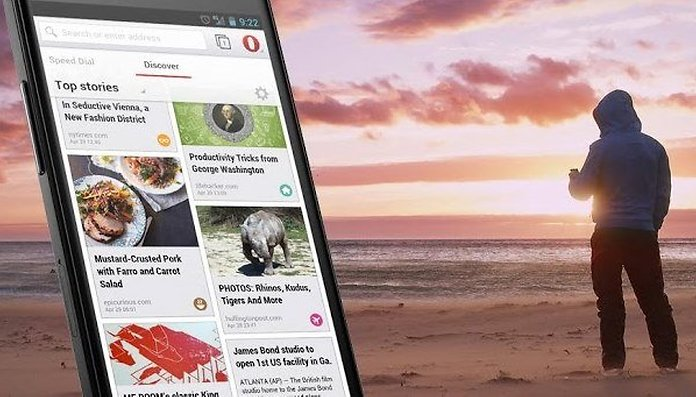 New features added to opera browser for android