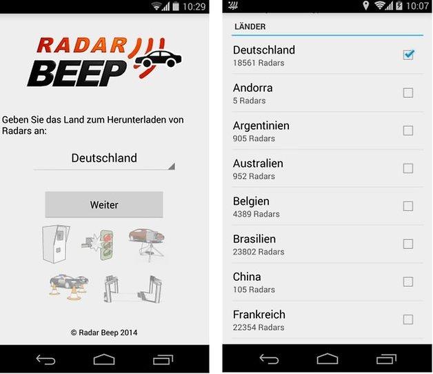 radarbeep screenshot1
