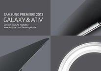 'Premiere 2013 Galaxy & ATIV' - El evento de Samsung en junio