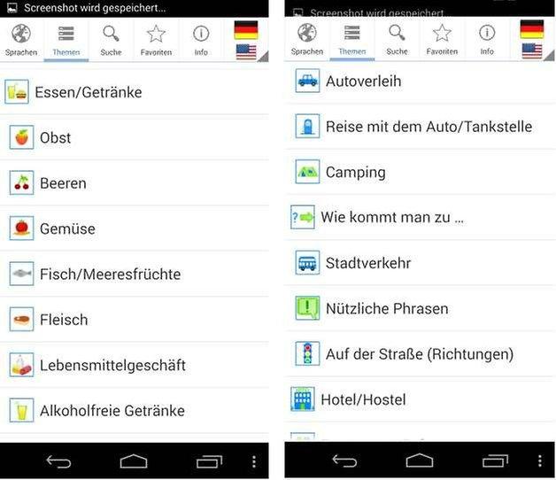 sprachfuehrer pro screenshot2