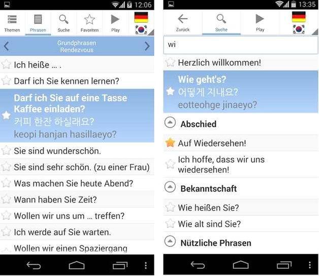 sprachfuehrer pro screenshot3