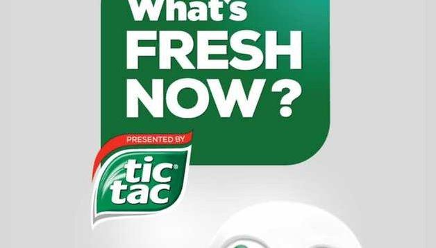 Fresh Now: Frische Nachrichten von Tic Tac