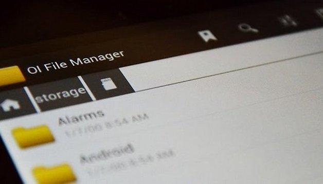 OI File Manager - Minimalistischer und praktischer Dateimanager