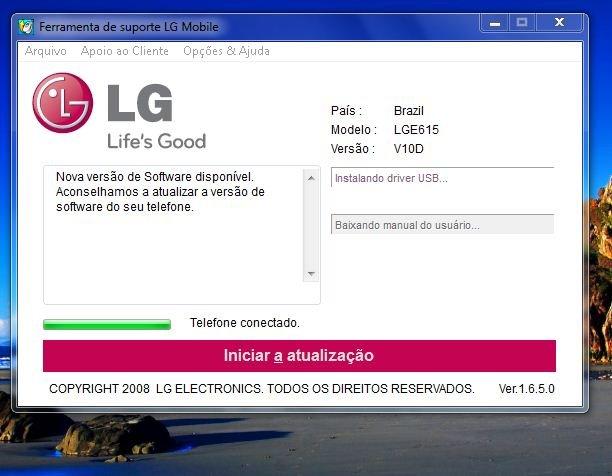 firmware lg e615