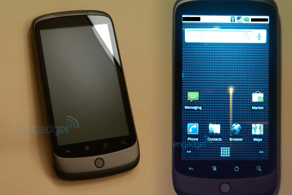 Nexus One - Link zu engadget