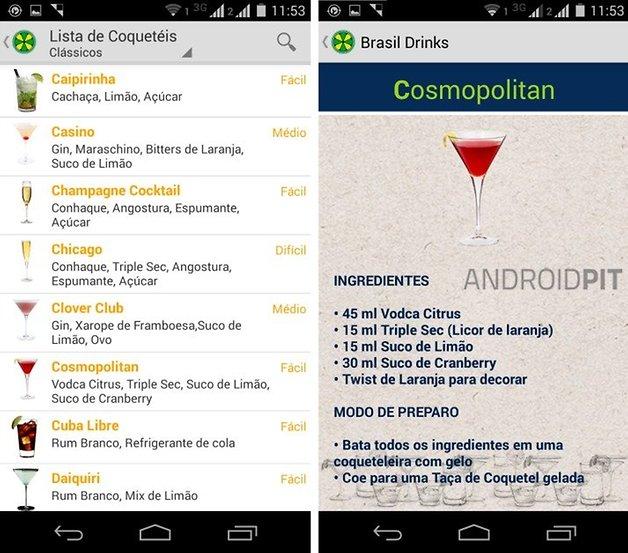 Brasil Drinks cosmo