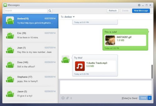 airdroid sms