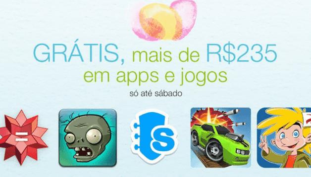 Promoção na Amazon App Store: vários jogos e apps de graça