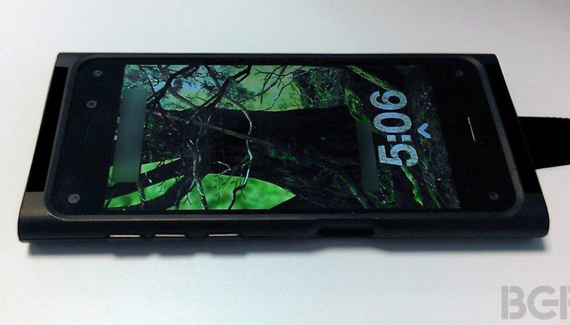 Premières photos du smartphone Amazon, avec écran 3D