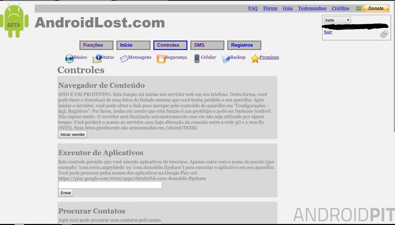 Encontre seu celular perdido com o Android Lost | AndroidPIT