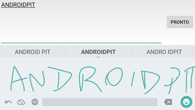 androidpit handwriting