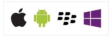apple android bb wp