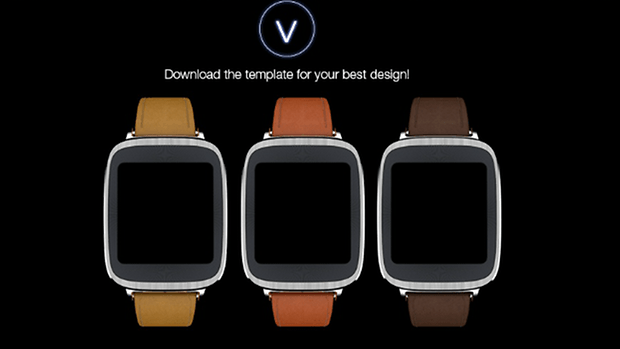 asus zenwatch template