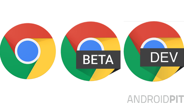 Chrome Dev aparece na Play Store