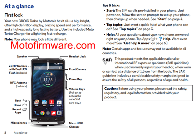 droid turbo guide