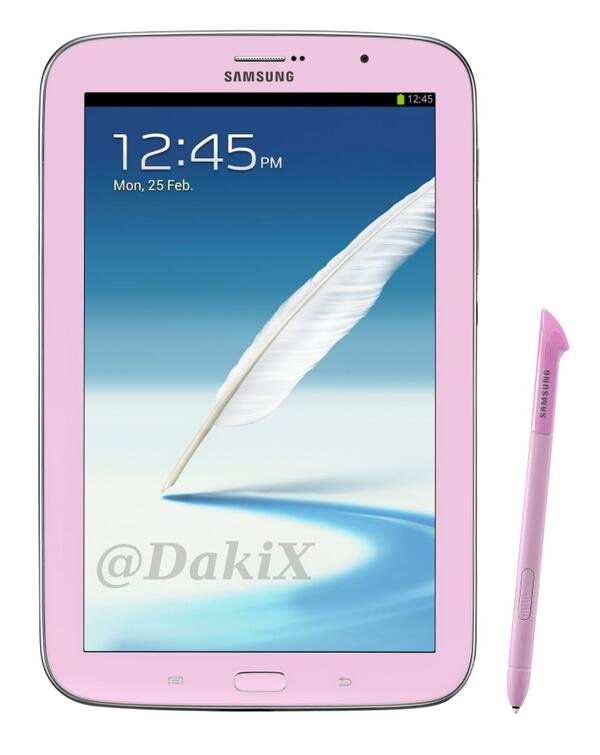 galaxy note 8 pink