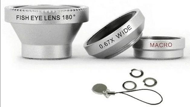 kit de lentes