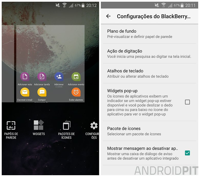 launcher bb priv4