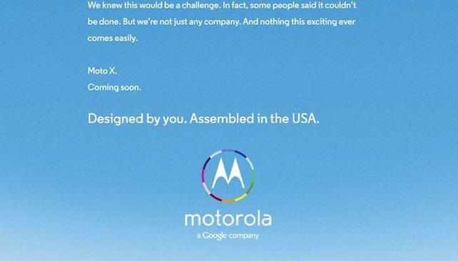 Moto X: o primeiro smartphone que você pode 'projetar'