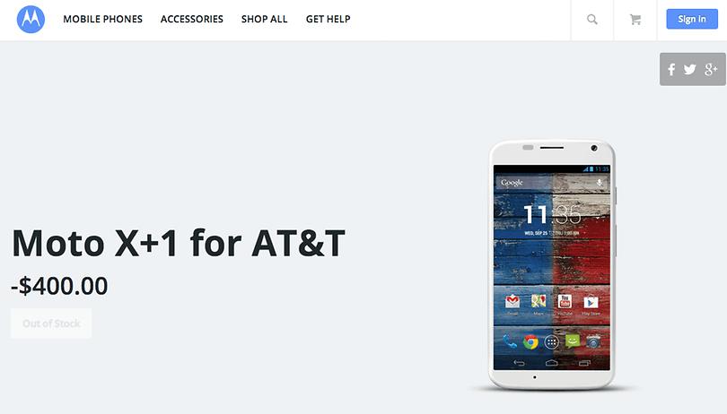 Vaza o preço do Moto X+1 nos EUA
