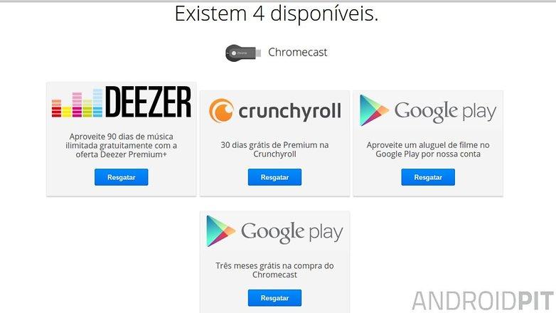 ofertas chromecast