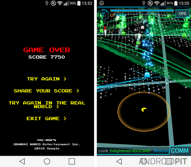 pac man ingress