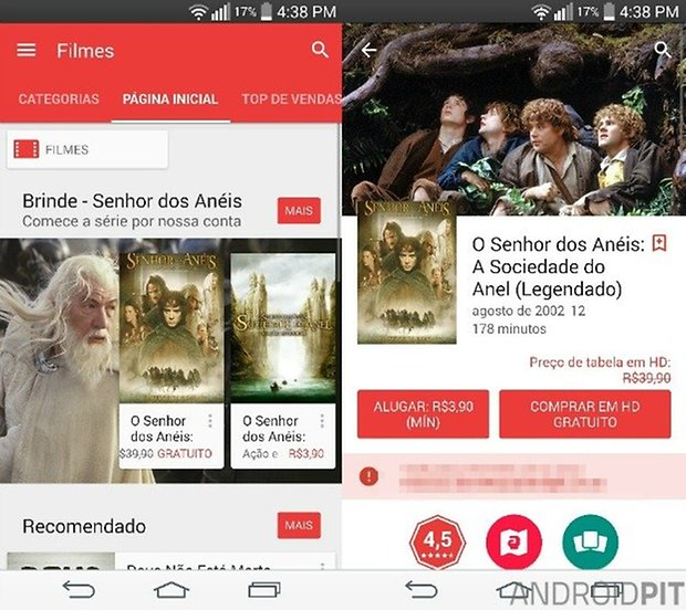 play movies lotr BR